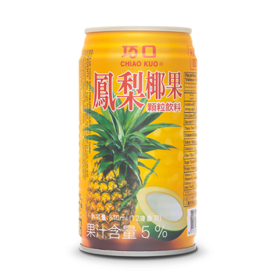 CHIAO KUO PINEAPPLE NATA DE COCO DRINK 1